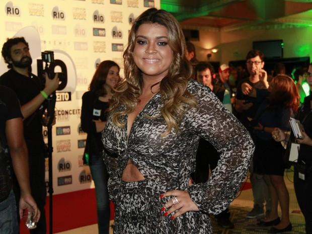Preta Gil no prêmio Rio sem preconceito (Foto: Isac Luz / EGO)