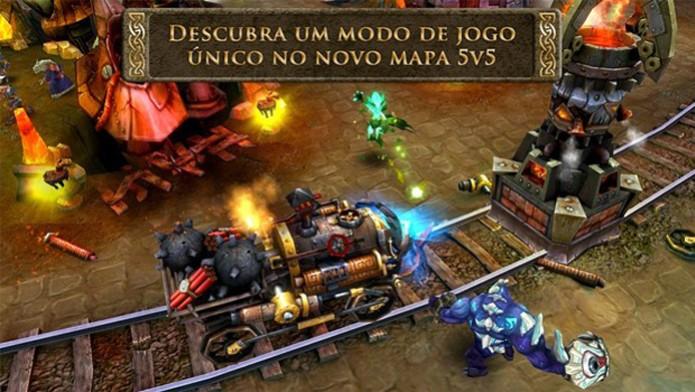 """Heroes of Orders & Chaos é o """"League of Legends"""" para smartphone e tablets (Foto: Divulgação)"""