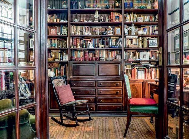 livros-estantes-cadeiras (Foto: Lufe Gomes/Life by Lufe)