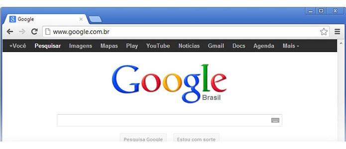Usuários com navegadores antigos têm visto design ultrapassado do Google (Foto: Reprodução/Google)