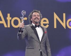 Nero é o ator do ano e declara: 'Sou um grande fanfarrão' (Felipe Monteiro/ Gshow)