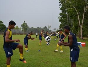 treino do Rondoniense (Foto: Jheniffer Núbia/GE)