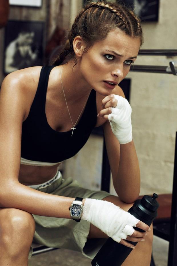 Boxer braid: a trança da vez é a de boxeadora  (Foto: Vogue Paris)
