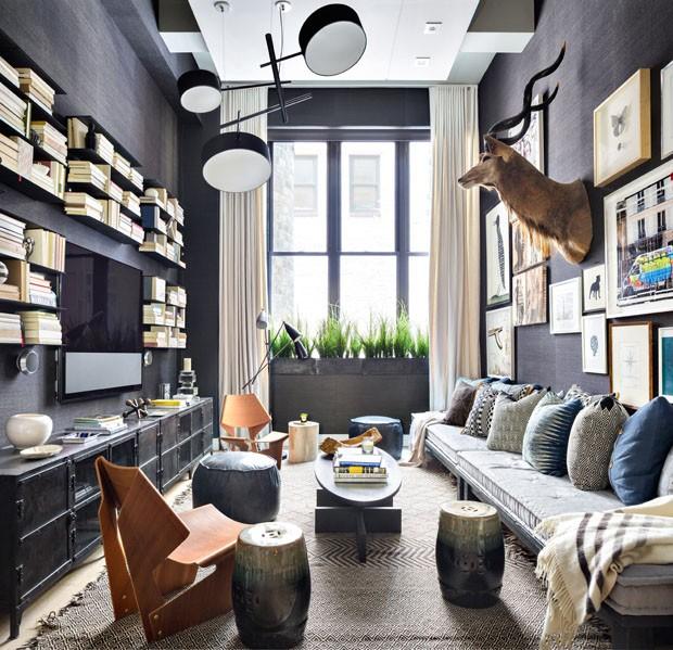 Apartamento descolado em Nova York (Foto: Editora Globo)