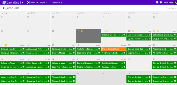 Calendario Outlook.Como Adicionar Todos Os Jogos Da Copa Ao Calendario Do
