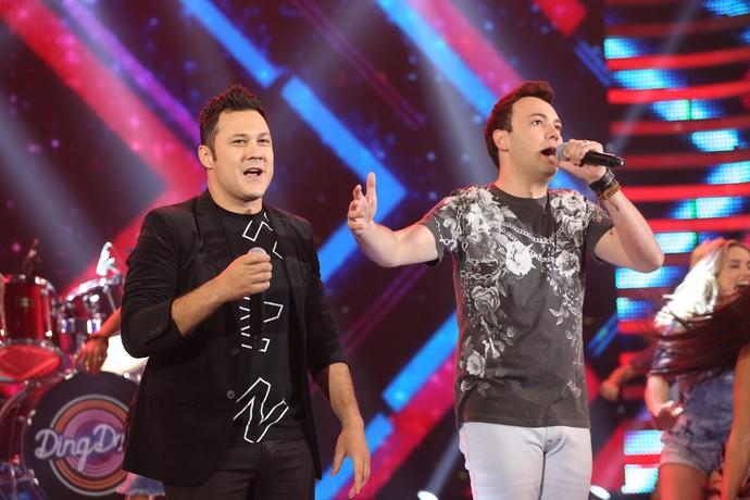 João Bosco e Vinicius mandam ver no palco (Foto: Carol Caminha/Gshow)