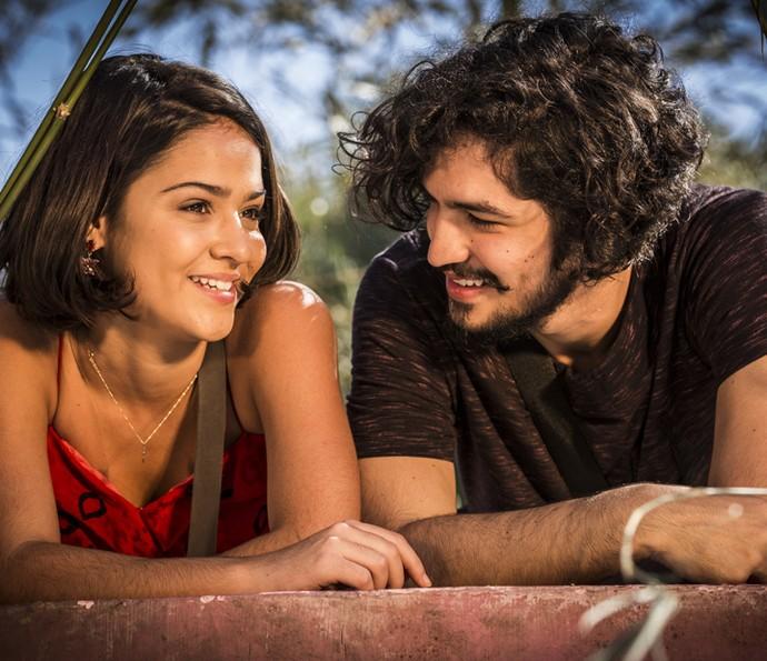 Olívia pede para Miguel voltar para a sua casa (Foto: Inácio Moraes/Gshow)