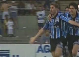 Cruzeiro x Grêmio 1998 Scheidt Grêmio (Foto: Reprodução)