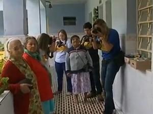 Campanha arrecada doações para abrigo de idosas, em Garanhuns, no Agreste de Pernambuco (Foto: Reprodução/ TV Asa Branca)