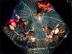 Globo da Morte está entre atrações do Le Cirque (Foto: Divulgação)