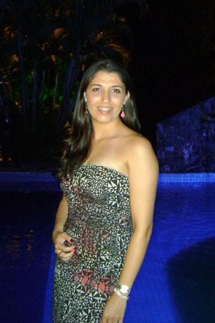 Renata Angeleli, personagem de materia sobre visto americano (Foto: Arquivo pessoal)