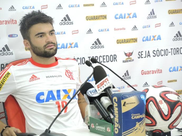 Arthur Maia Flamengo (Foto: Igor Rodrigues)