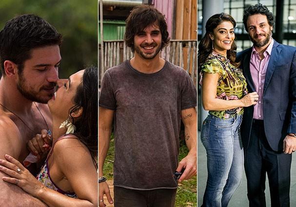 """Elenco de """"A Força do Querer"""" (Foto: TV Globo e Montagem/Glamour)"""