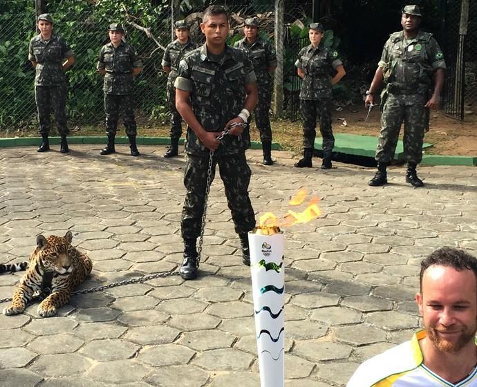Tour da Tocha em Manaus (Foto: Isabella Pina)