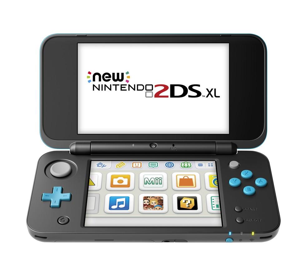 New Nintendo 2DS XL tem todas as características do New Nintendo 3DS XL, com exceção das imagens em três dimensões (Foto: Divulgação)