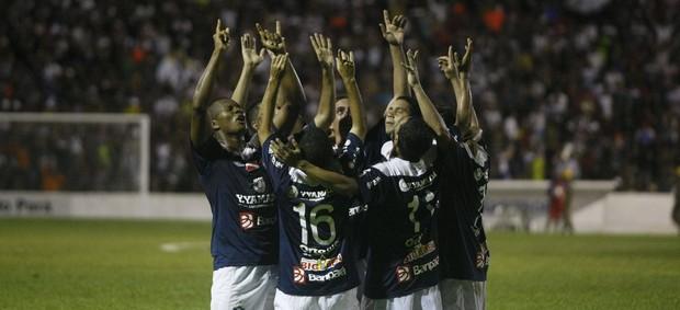 União dos jogadores vai fazendo a diferença no Clube do Remo (Foto: Marcelo Seabra/O Liberal)