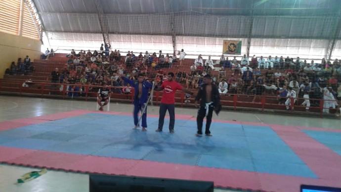 3ª Copa de Jiu-jítsu no ginásio Álvaro Dantas (Foto: Divulgação/AJJAC)