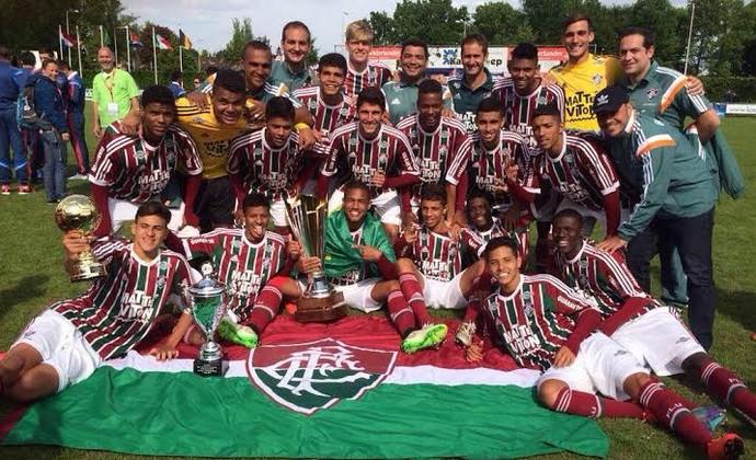 Flu campeão holanda (Foto: Divulgação/ Site oficial Fluminense)