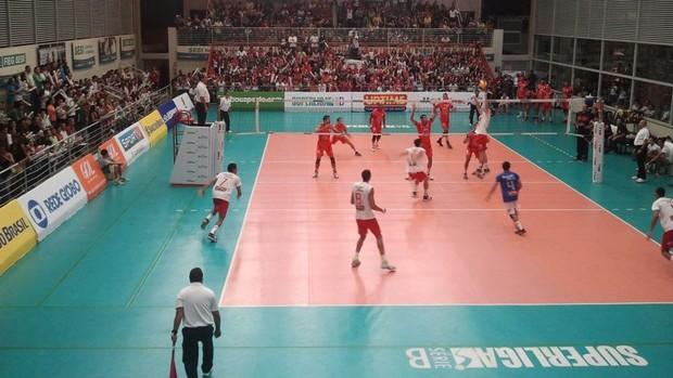 Monte Cristo x Olympico - Superliga B (Foto: Divulgação / Monte Cristo)