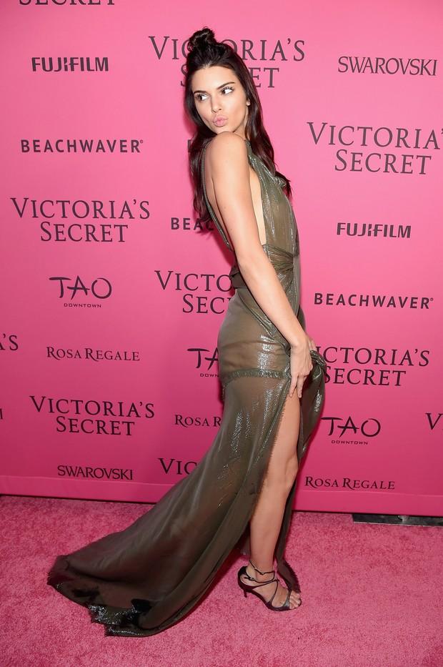 Kendall Jenner em festa em Nova York, nos Estados Unidos (Foto: Michael Loccisano/ Getty Images/ AFP)