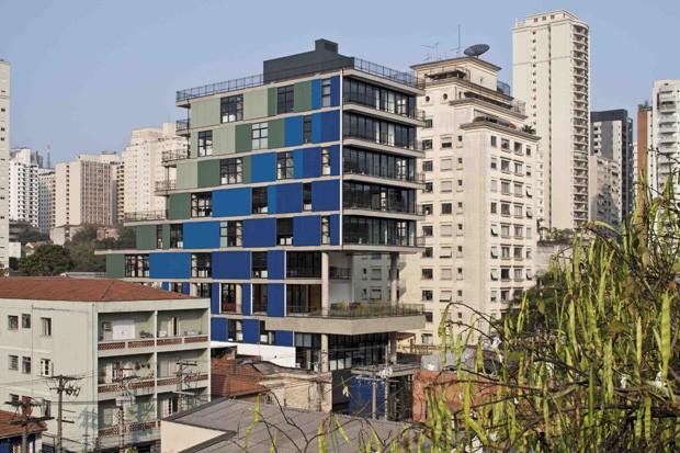 Edifício João Moura, São Paulo, 2008/2012, Nietsche Arquitetos (Foto: Leonardo Finotti)