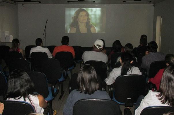 TV Clube promove o lançamento da novela Sete Vidas entre os colaboradores. (Foto: André Santos/TV Clube)