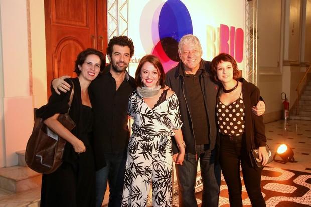 Famosos prestigiam peça de Lúcio Mauro Filho (Foto: Daniel Pinheiro/AgNews)