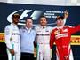 Atuações: Nico, Hamilton e Alonso brilham. Kvyat paga mico em casa