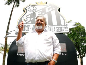Luis Alvaro Laor presidente do Santos arquivo (Foto: Ricardo Saibun / Divulgação Santos FC)