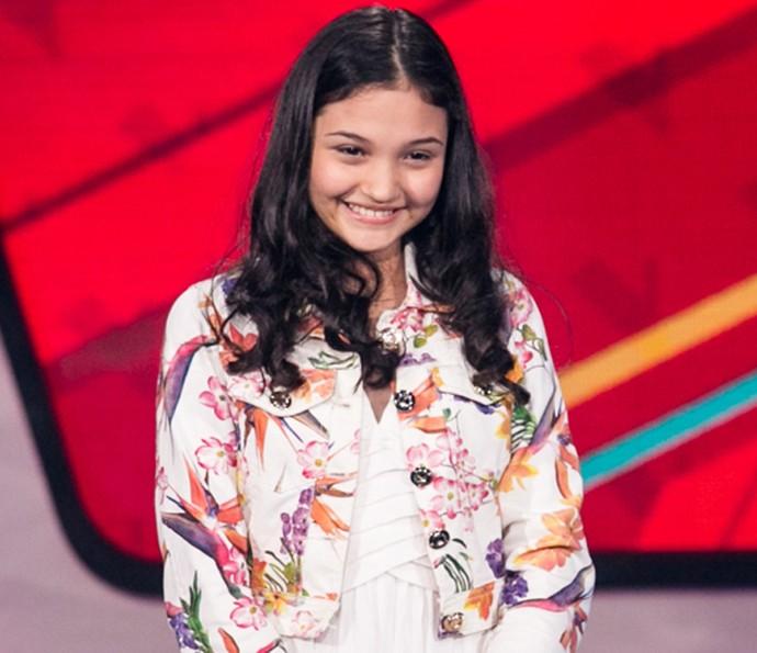 Ana Rosa é aprovada nas Audições do The Voice Kids (Foto: Isabella Pinheiro/Gshow)