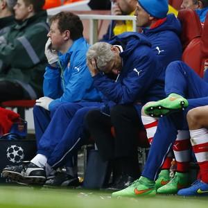 Arsene Wenger Arsenal x Monaco (Foto: Reuters)