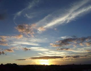 Por do sol Flor do Caribe (Foto: Colaborativo/ Vc na RPC TV)