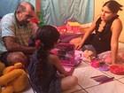Menina tem vida nova após retirar pelos, diz pai: 'Só tenho a agradecer'