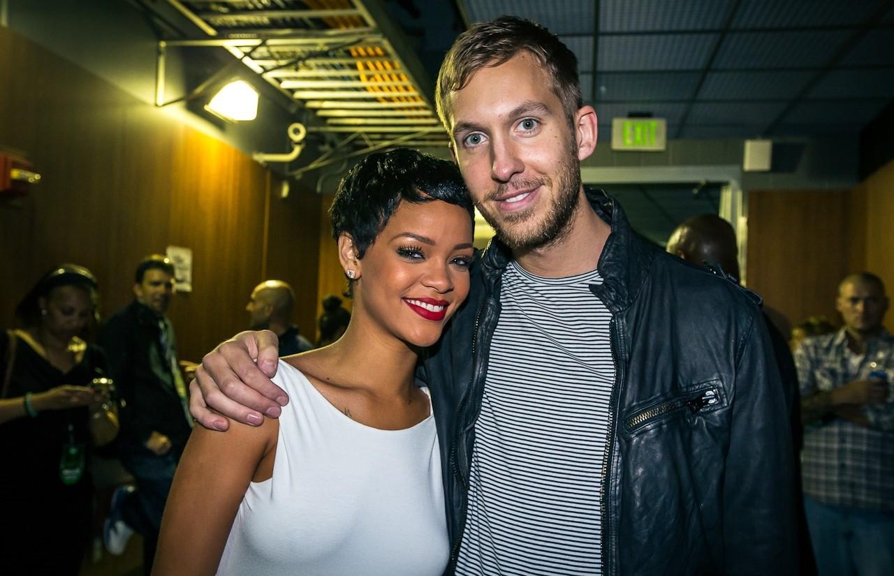 Rihanna e Calvin Harris reeditam dupla que fez sucesso em 2011, com 'We Found Love' (Foto: Reproduo/Instagram)