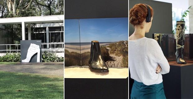 Imagens da exposio na Fundao Maria Luisa e Oscar Americano.  (Foto: Reproduo / Instagram)