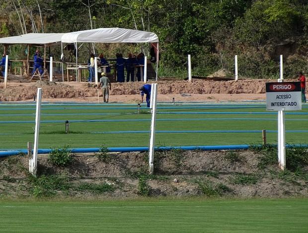 gramado arena pernambuco  (Foto: Lula Moraes / GloboEsporte.com)