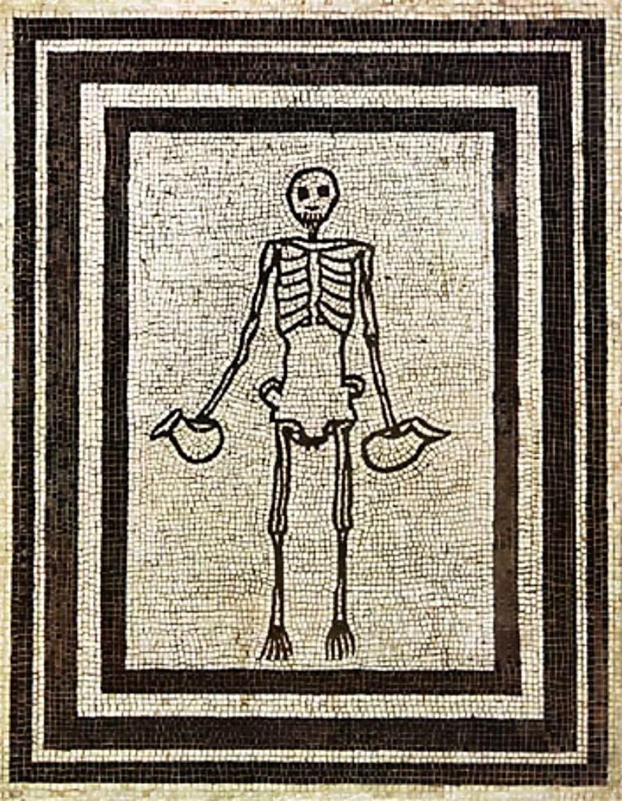 esqueleto (Foto: Museo Archeologico Nazionale)