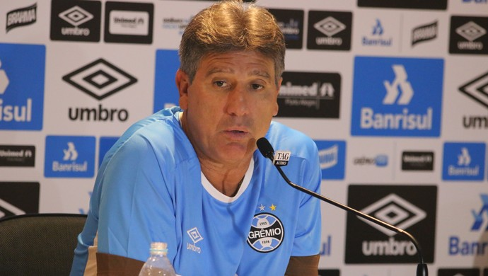 Renato Gaúcho técnico Grêmio Arena (Foto: Eduardo Moura / GloboEsporte.com)