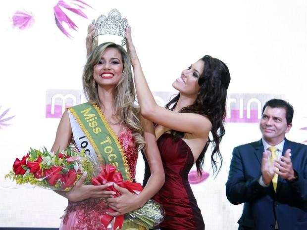 Miss Tocantinópolis é coroada Miss Tocantins (Foto: Manuel Espitia/Miss Tocantins)