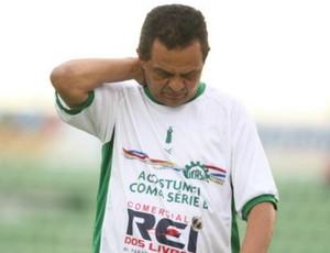 Francisco Diá, técnico do Icasa (Foto: Normando Sóracles/Agência Miséria de Comunicação)
