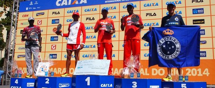 José Márcio Leão da Silva termina a Meia Maratona do Rio de Janeiro em 5º lugar e sobe no pódio (Foto: Divulgação / Alexandre Minardi)
