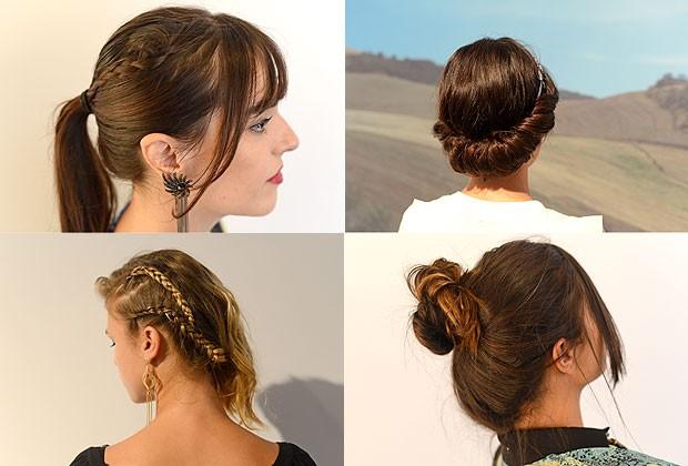 Preso X Solto: qual penteado das fashionistas você prefere? Vote!