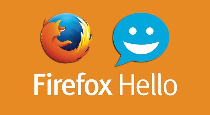 Firefox Hello compartilha aba ativa em sala virtual (Foto: Reprodução/Paulo Alves)