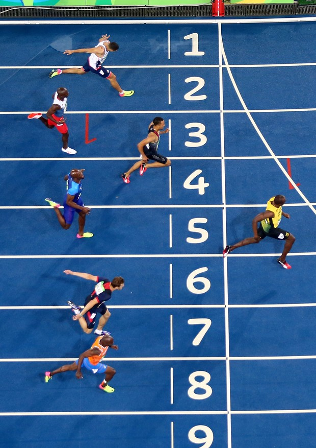 Usain Bolt vence a final dos 200m rasos na Rio 2016 (Foto: Getty Images)