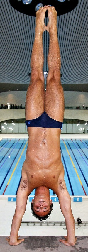 Tom Daley saltos ornamentais Londres (Foto: AFP)