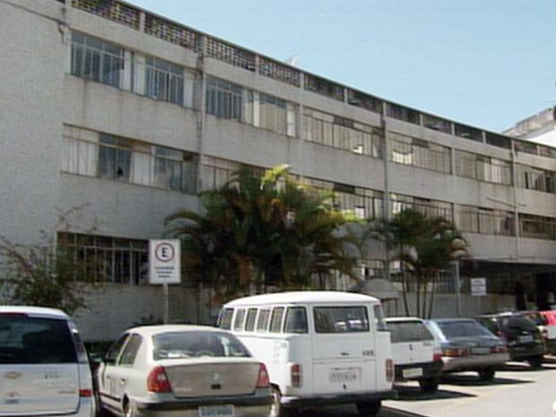 Com estrutura condenada, Complexo Santa Cruz será demolido em Poços de Caldas (Foto: Reprodução EPTV / Marcelo Rodrigues)