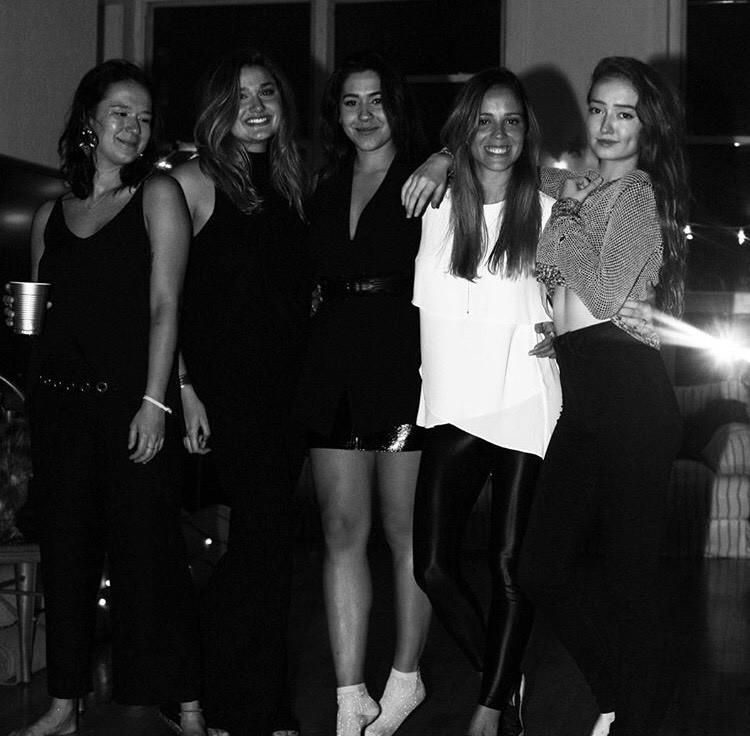Sasha Meneghel na festa de aniversário que compareceu com Bruna Marquezine (Foto: Instagram/Reprodução)