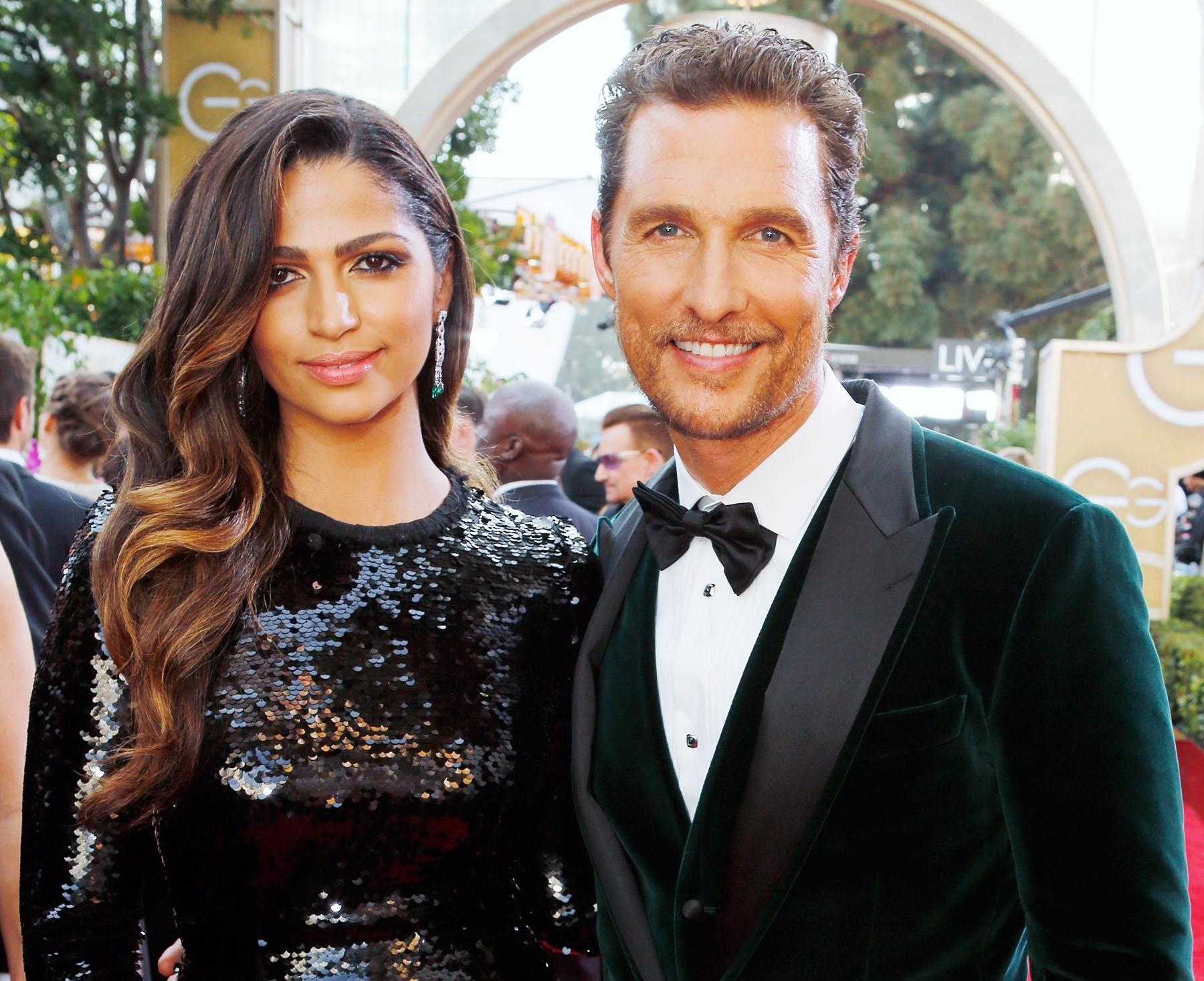 Matthew McConaughey e Camila Alves (Foto: Divulgação)