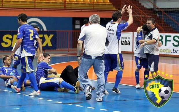 Constelação vai disputar elite do futsal masculino adulto (Foto: Zerosa Filho/CBFS)