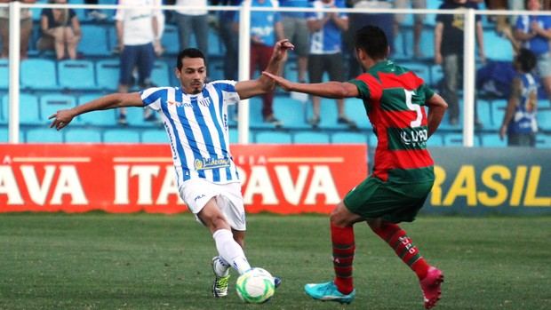 Roberto Avaí x Portuguesa (Foto: Jamira Furlani/Avaí FC)